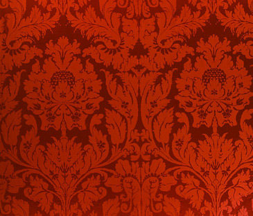Pics For Gt Brocade Pattern Red